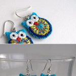 Making your own owl earring at home