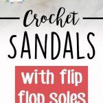 Crochet Sandals-DIY