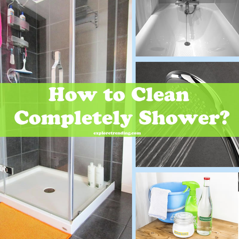 like the first day reuse your with vinegar and baking soda how to clean completely shower. Black Bedroom Furniture Sets. Home Design Ideas
