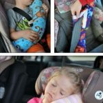 Providing comfort to small children while riding cars