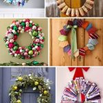 Start to Your Home Design at Door, Different DIY Wreath Projects