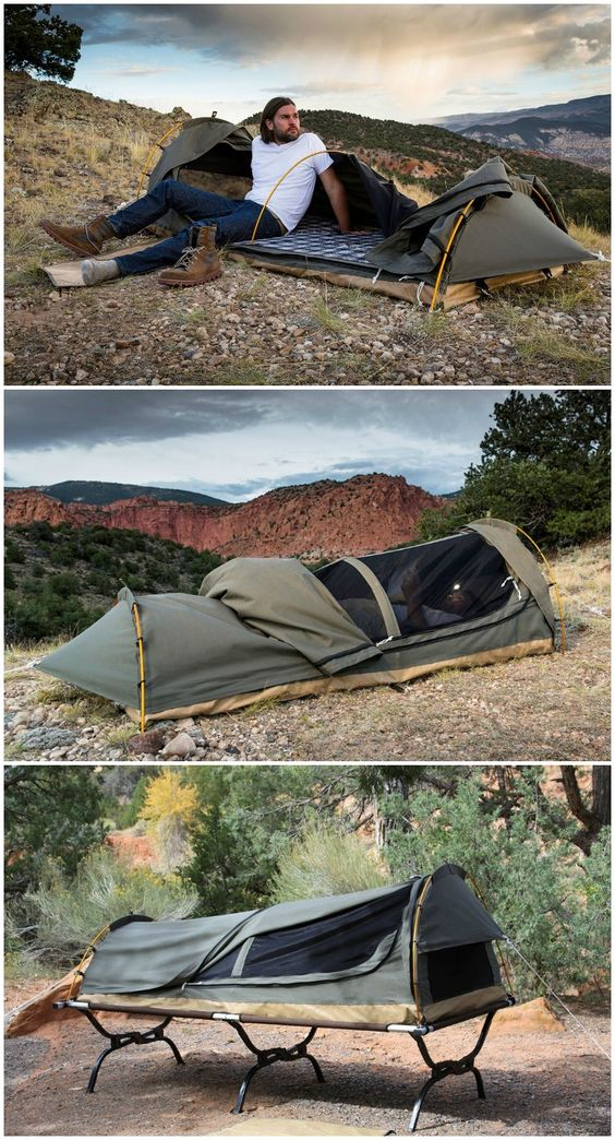 10 Important Tips For Staying Hot In The Tent And Sleeping