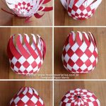 A Wonderful Decoration Idea for Christmas: Chess Board Twisted Christmas Balls