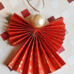 Let's Prepare an Origami Christmas Angle with This Easy Steps