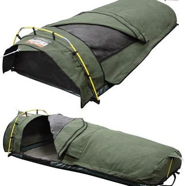 Camping With A Tent Or Sleeping Bag
