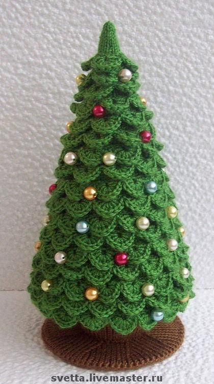 when you want to make it as a tree you start from the top and continue by adding them as we told then connect one side to another - Small Decorated Christmas Trees