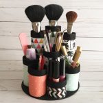 DIY Makeup Organisers With Paper Towel Tubes