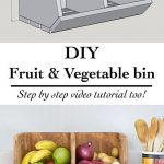 Handmade Vegetable Bins Will Color Your Kitchen
