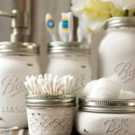 DIY Bathroom Decorations With Mason Jars
