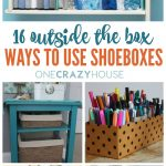Make Many Decorations With Shoe Boxes