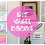 DIY Wall Decoration Ideas With Video Turtorial