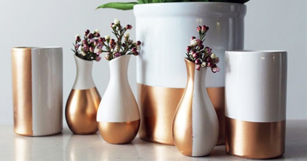 Make flower vases with do it yourself projects explore trending most solutioingenieria Image collections