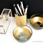 Make Your Items Shiny With Gold Spray Paint