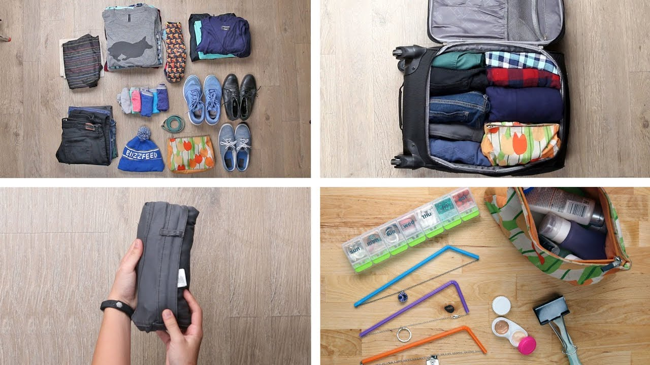 Do Not Go On A Trip Without Knowing Carry On Packing Hacks