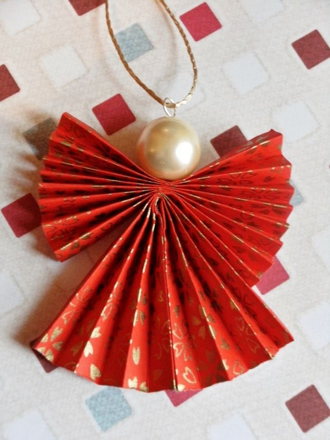 Let S Prepare An Origami Christmas Angle With This Easy