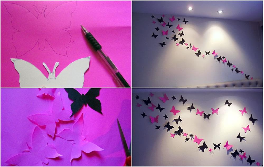 Paper Erfly Decoration Wedding Ideas