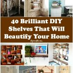 Easy Wooden Shelf Designs Made At Home